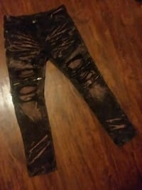 black and brown camouflage pants 375 mi