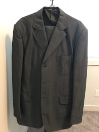 2 piece suits that I bought in Dubai last year at British home shopping. One is dark blue and the other is gray both a two piece suit. I will sell for $240 for both and $140 for the dark blue & $120 for the gray. It was only used once during my convention Calgary, T3N 0K6