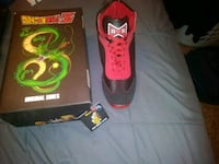 DBZ shoes red ribbon and goku NEW size.10 mens El Paso, 79925