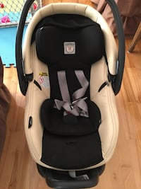 Baby car seat and cover
