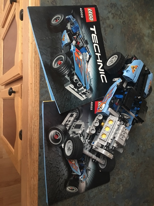 Used Lego Technic 42022 Hot Rod And Instructions For Sale In