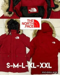 chaqueta con parka chaqueta con cremallera de The North Face collage photo Madrid, 28053