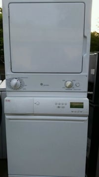 white stackable washer and dryer Lincolnia, 22312