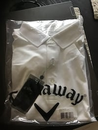 Men's medium Callaway golf shirt new Calgary, T2Z