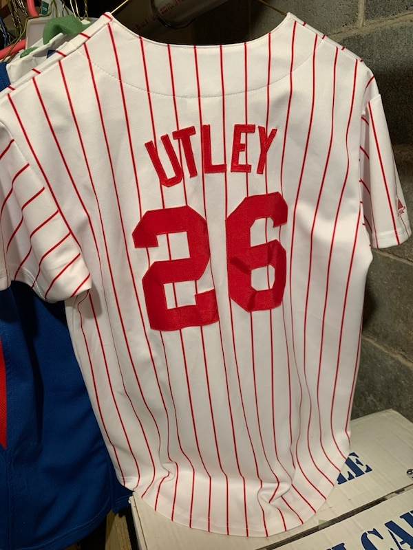 Chase Utley Phillies Jersey 8d69f270942