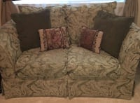 Pretty jacquard Love Seat Sofa and Overstuffed Chair. Clean!!! Sacramento, 95835