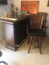 Home Bar  two chairs