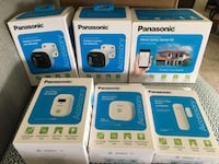 Panasonic home safety starter kit with 2 outdoor cameras, Surrey, V3X