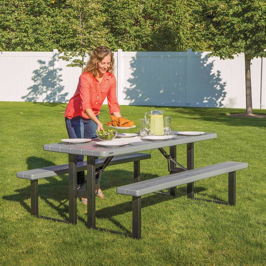 Lifetime (6 ft.) Folding Picnic Table - FREE DELIVARY!  0