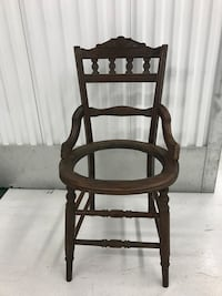 black wooden windsor rocking chair Seattle, 98107