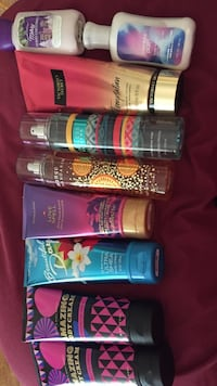 Misc. assorted Name Brand Body Sprays & Lotions Cleveland, 44111