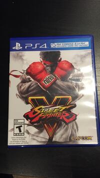 Street fighter 5 ps4 Mississauga