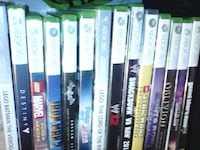 assorted Xbox 360 game cases Winnipeg, R2W 3S7