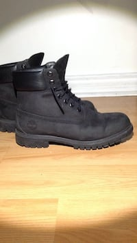Men's 8.5 All Black Timberlands Mississauga, L5C 2G6