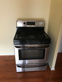black and gray induction range oven Falls Church, 22044