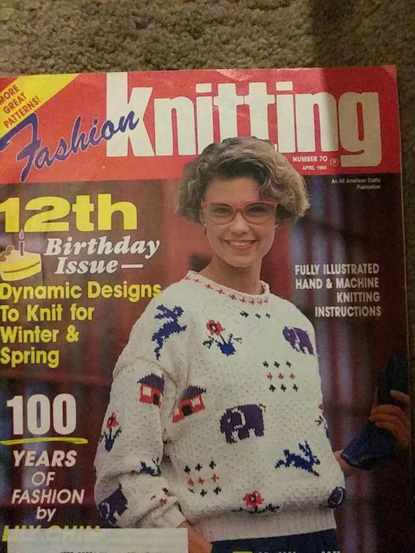 Old knitting magazines from 90's  3cb6357f-d2cb-488b-a57d-1c4dc893ffef