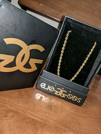 "Gold Gods 28"" gold chain REAL"