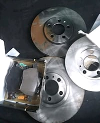 Brand new brake rotors and pads. In the boxes.  Langley, V3A 2C3