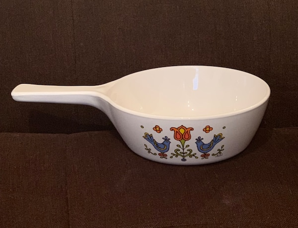 RARE FIND!! CorningWare Skillet—Country Festival