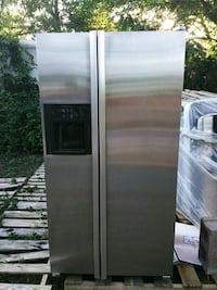 JennAire stainless steel side-by-side refrigerator Dallas, 75209