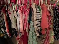 Lots and lots of clean barley used baby girl clothes NB, 0-3, 6-9 Fort Worth, 76107