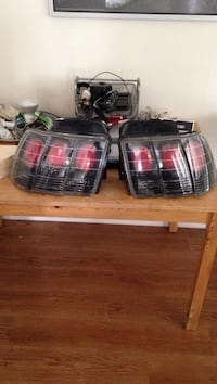 pair of Ford Mustang taillight