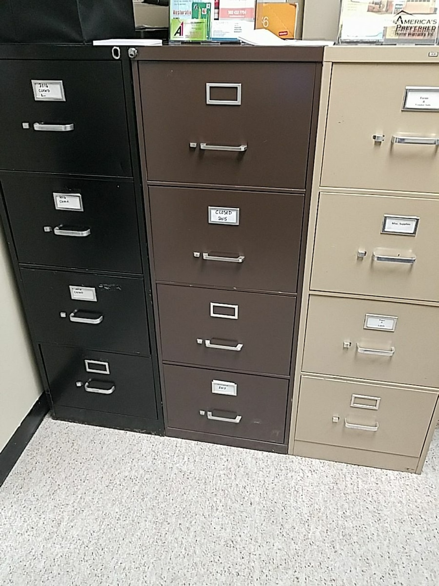 used legal size file cabinets 50 each for sale in louisville letgo rh us letgo com
