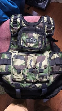 Tactical Paintball Vest with tank holder Bethesda, 20817