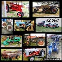 Tractors and attachments 442 mi