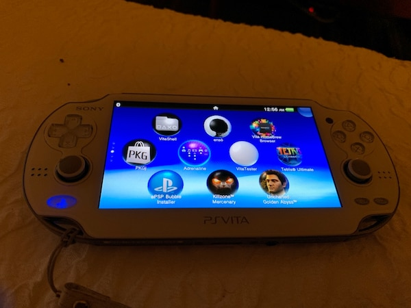 PS Vita (loaded with games and homebrew)