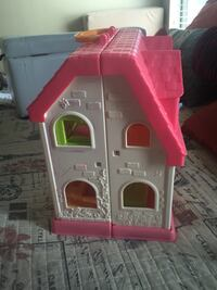 Little People White and pink plastic house toy  Laredo, 78045