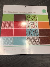 Brand new double sided scrapbook sheets Kitchener, N2B 3K5