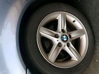 Bmw 16 rims with tires  Mississauga, L5M 7B5