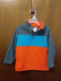 blue and red pullover hoodie Powell, 37849