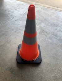 """Traffic Safety Cones 28"""", heavy base, DOT approved with scotchlite Mount Airy, 21771"""
