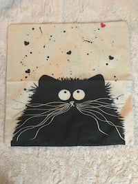 NEW: Cat Pillow Cover London