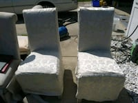 two white floral padded chairs Ormond Beach, 32174