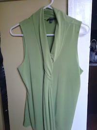 Line green blouse
