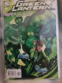 Green Lantern 26 signed by Mike McKone Herndon, 20170