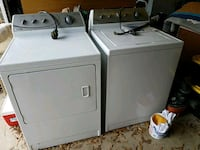 white washer and dryer set Alexandria, 22306