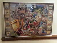 Mickey's History 1000pcs jigsaw puzzle complete with frame 558 km
