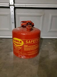 Saftey gas can