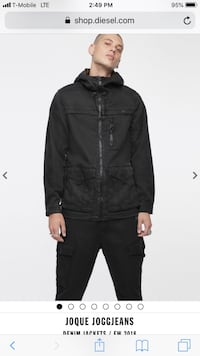 Brand new black diesel jacket New York, 10014