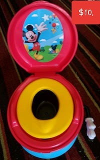 Mickey Mouse talking potty seat