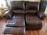 brown leather 2-seat recliner sofa Phoenix, 85041