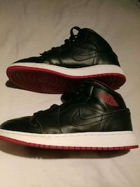 All leather black nike shoes Houston, 77076