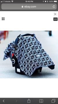 Black and white car seat canopy Moorpark, 93021