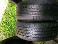 205/55/17 Continental two matching tires 107 mi
