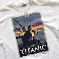 90s vintage Titanic movie tee shirt Toronto, M6M 5A7