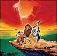 Lion King backdrop